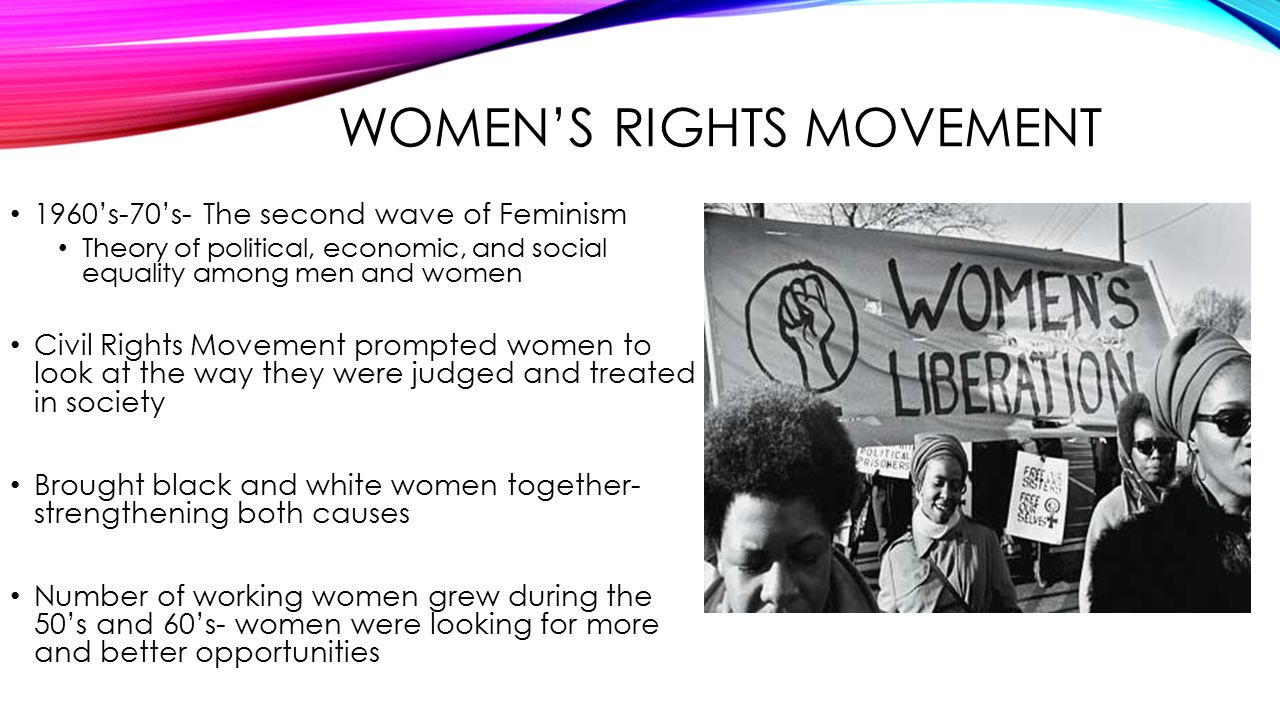 8 WOMENS RIGHTS MOVEMENT