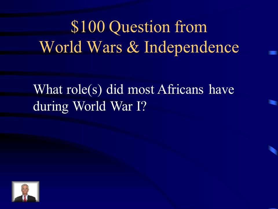 $500 Answer Pan-Africanism