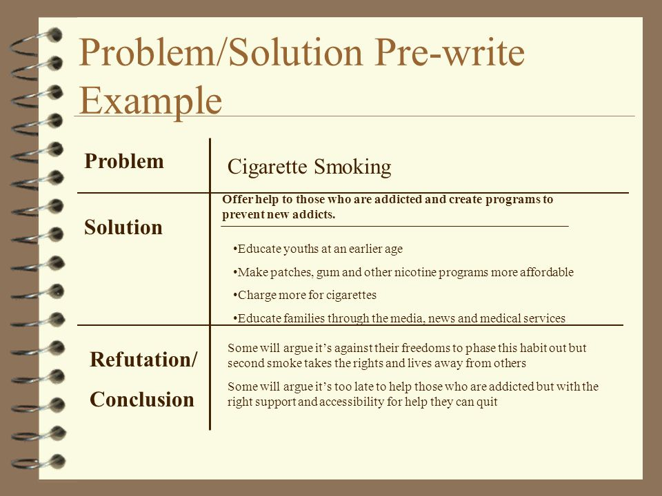 A Guide To Problem And Solution Essays How Argue Your