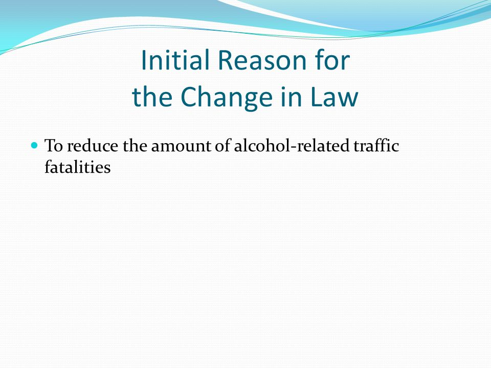 the effects of lowering the drinking Because a change in the drinking age is likely to involve lowering it from 21 to 18, we focus on estimating the effect of lowering the drinking age by this amount on alcohol consumption, costs borne by the drinker, and costs borne by other people.
