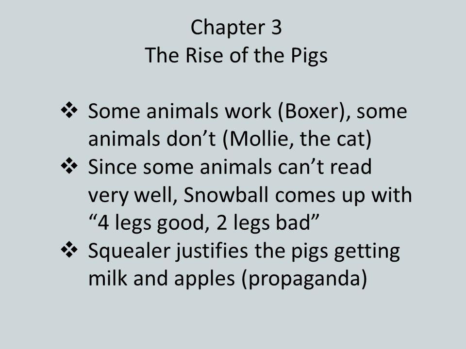 Animal Farm Chapter 1 Old Major's Speech  Old Major calls a