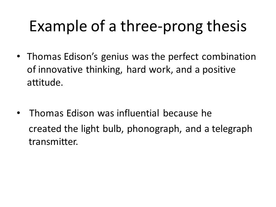 Thesis statement of thomas edison custom literature review editor for hire online