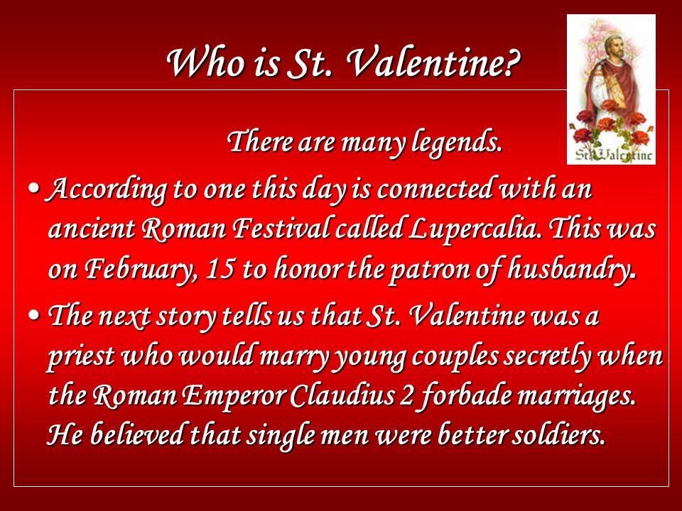 was st valentine single