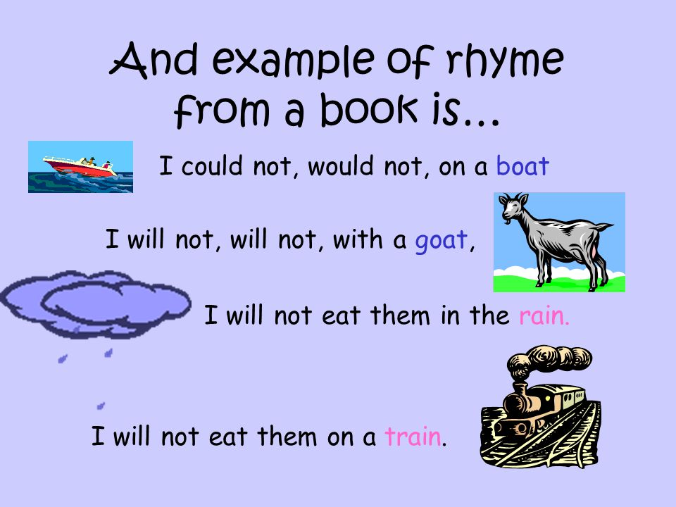 Rhyme Lesson Information On Rhyme Nursery Rhymes Songs And Books