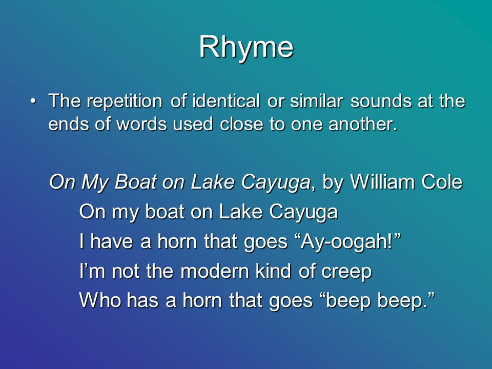words that rhyme with horn