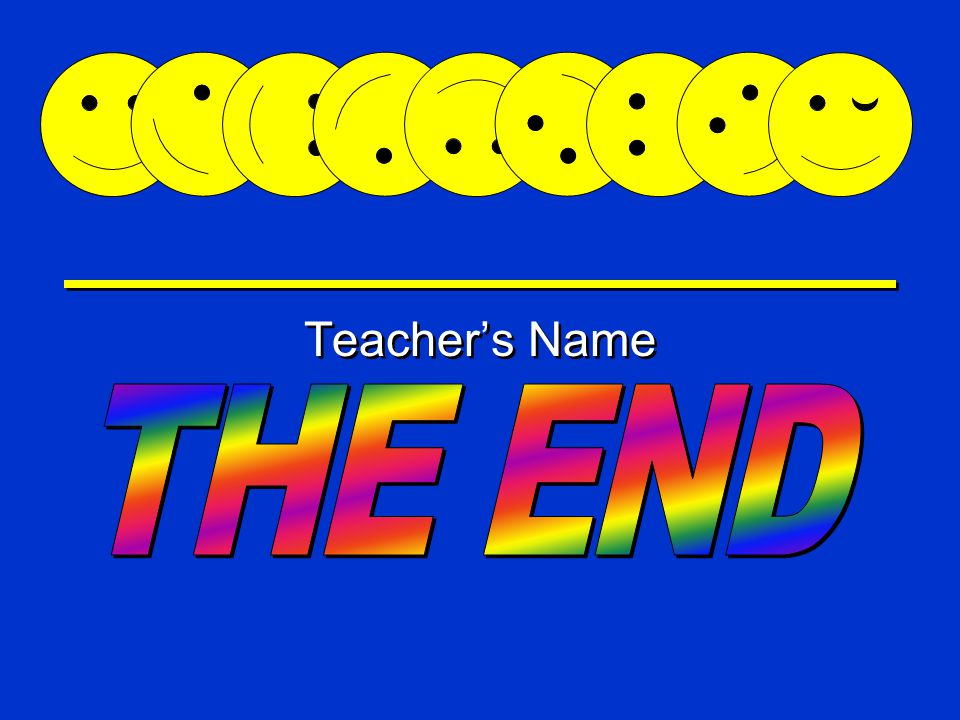 Happy Game Teacher's Name Happy is very hungry  Pick the