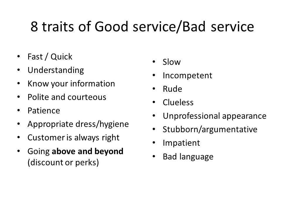 Essay On Good Customer Service  Mistyhamel Traits Of Poor Customer Service Essay Custom Paper Help