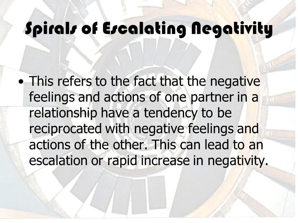 Negative partner relationship