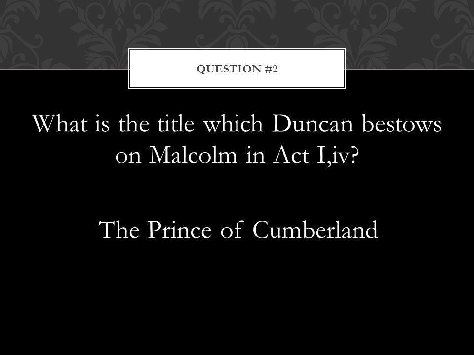 facts about duncan in macbeth