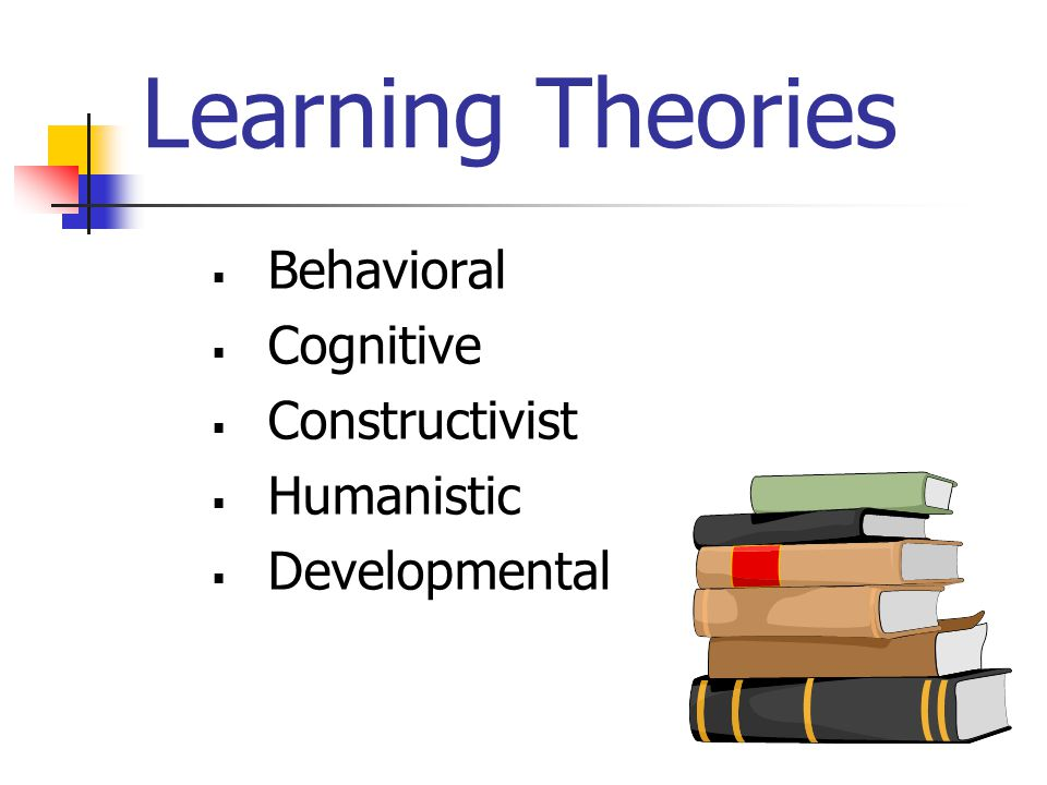 Learning Theories  Behavioral  Cognitive  Constructivist  Humanistic  Developmental