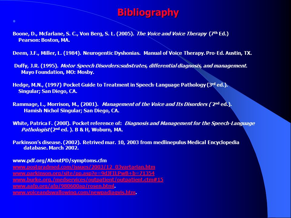 22 Bibliography Bibliography ...