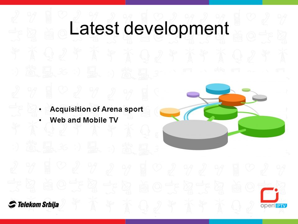 Latest development Acquisition of Arena sport Web and Mobile TV