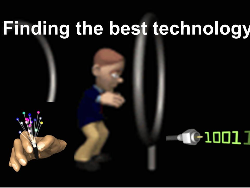 Finding the best technology
