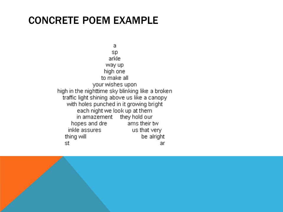 types of poetry. narrative poems a narrative poem combines elements