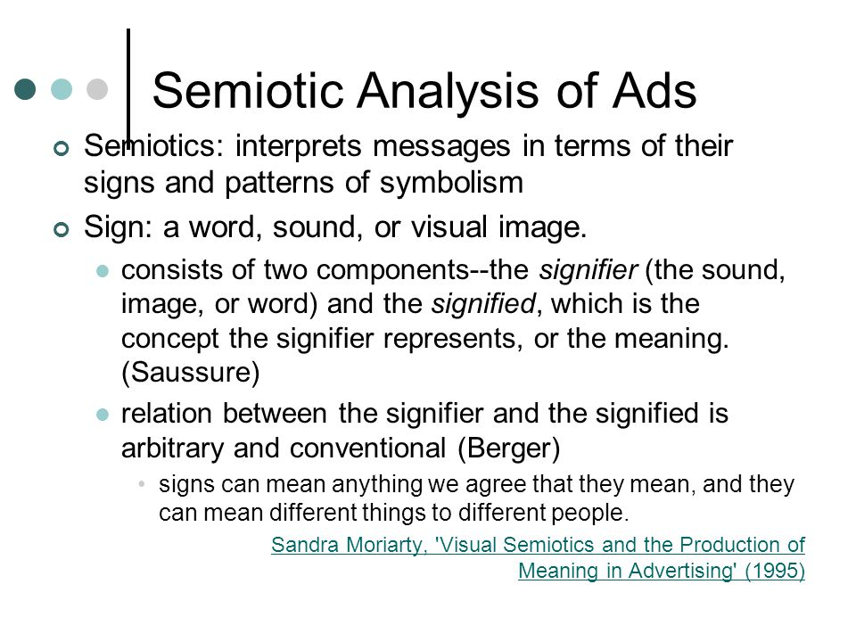 semiotic analysis essays Buy exclusive a semiotic analysis of my wardrobe essay paper from 1299 per page or use for free  free essays case studies a semiotic analysis of my wardrobe  a semiotic analysis of my wardrobe  oct 3, 2018 in.