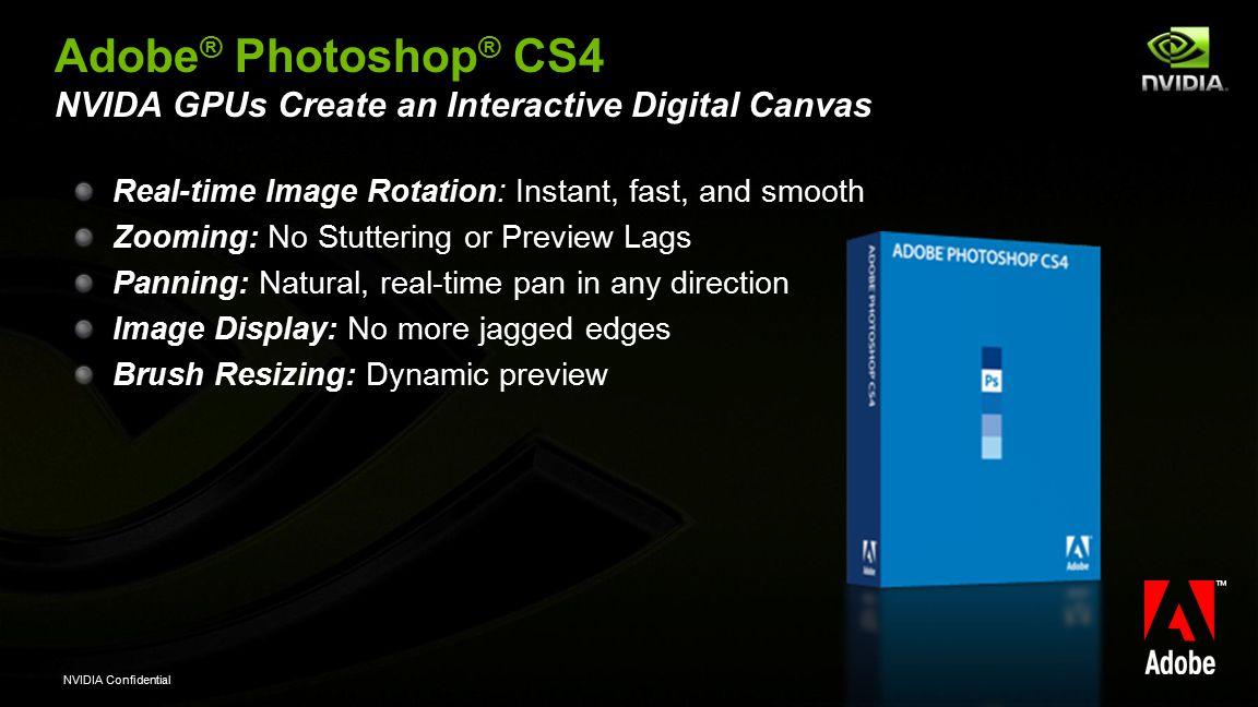 NVIDIA GPUs Power a Creative Revolution with Adobe Creative Suite