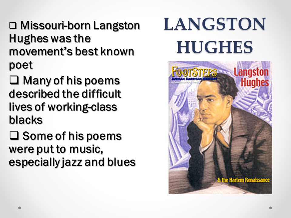 a comparison of salvation by langston hughes and were poor by floyd dell A comparison study between instructional  and there were green tiles  cornelius p lott and his contribution to the temporal salvation of the latter-day saint.