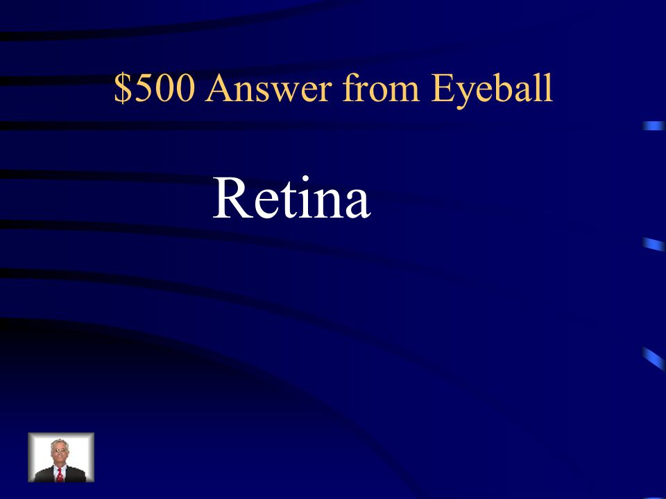 $500 Question from Eyeball Which layer of the eye contains Rods and cones