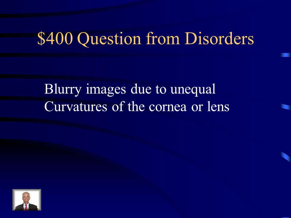 $300 Answer from Disorders Myopia