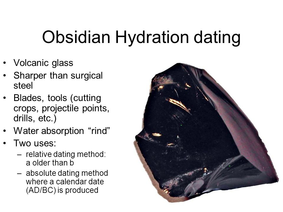 dating Obsidian
