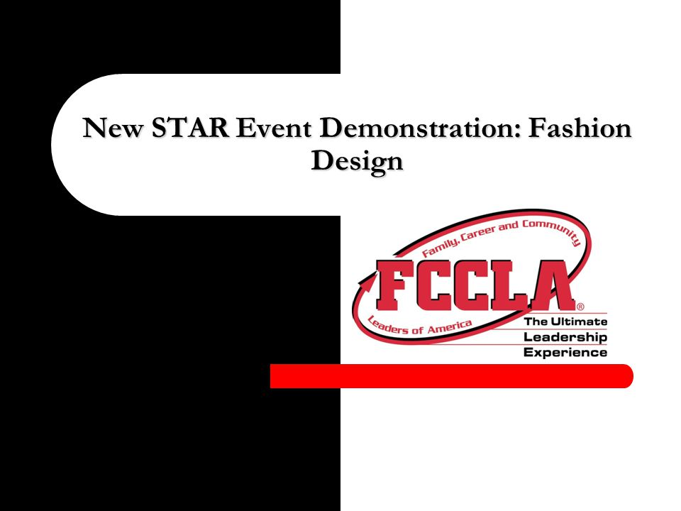 New Star Event Demonstration Fashion Design A Note From National Office Workshop Demonstrations Are Intended Only As Examples Of The New Events Questions Ppt Download