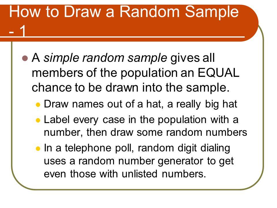 "Drawing Samples in ""Observational Studies"" Sample vs  the Population"