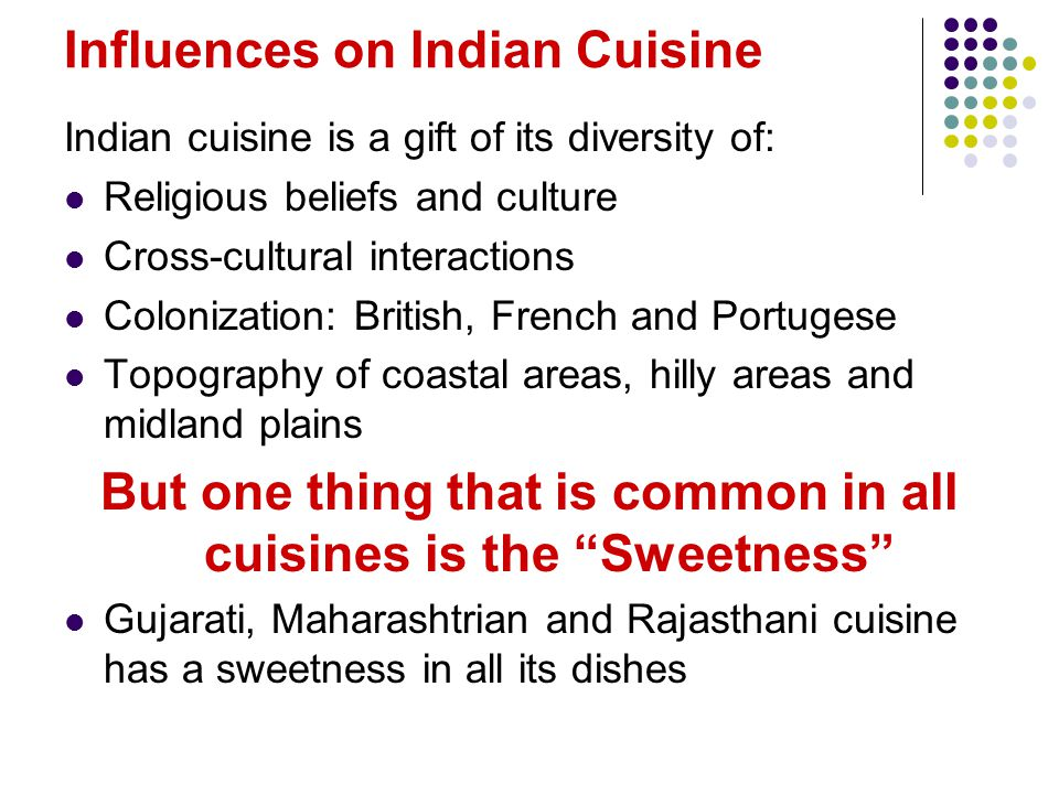 Sweetness In Indian Cuisine And Culture Presented By Deepti Gulati