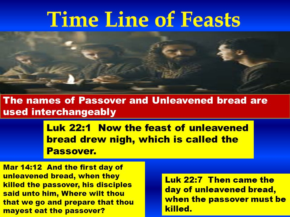 Spring Feasts 1  PASSOVER 2  FEAST OF UNLEAVENED BREAD 3