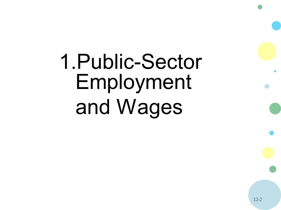 Public-Sector Employment and Wages