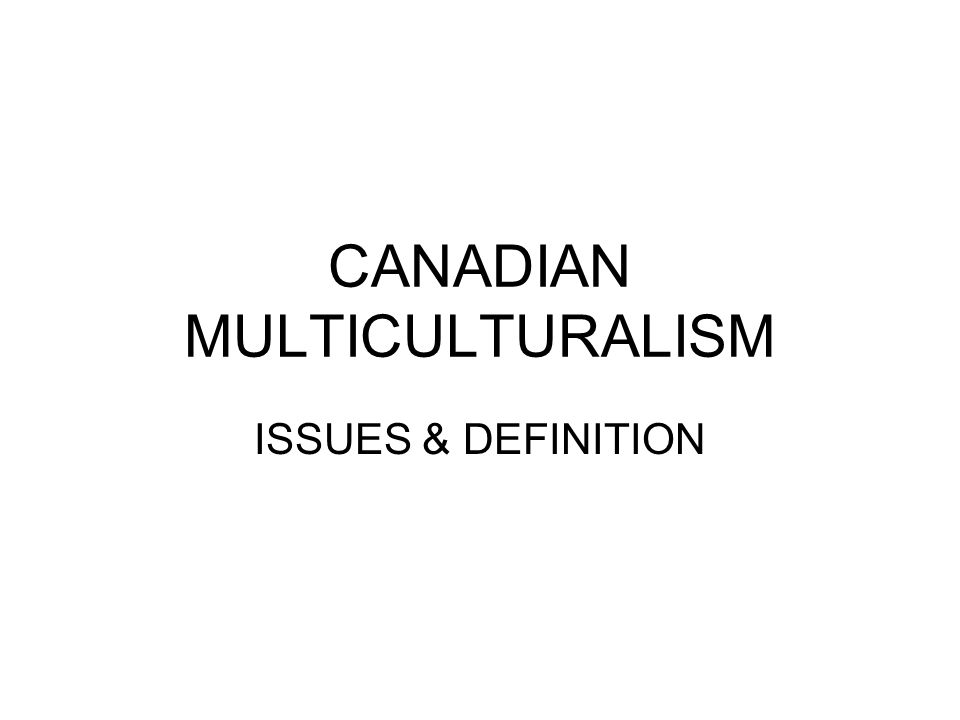 issues related to multicultural societies