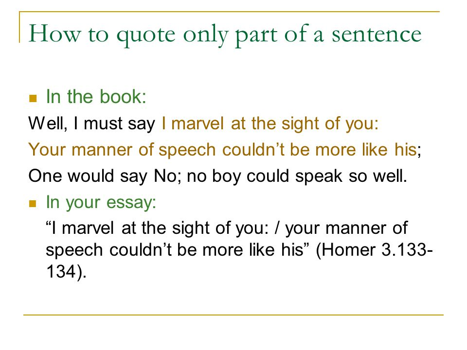 Integrating Literary Quotations How To Quote Lines Of Verse From Amazing How To Quote A Quote