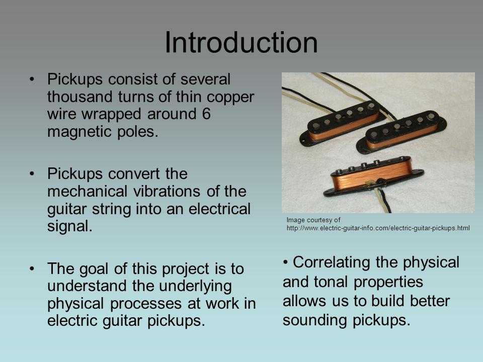 The Electromagnetic Properties of Electric Guitar Pickups Dan Carson ...