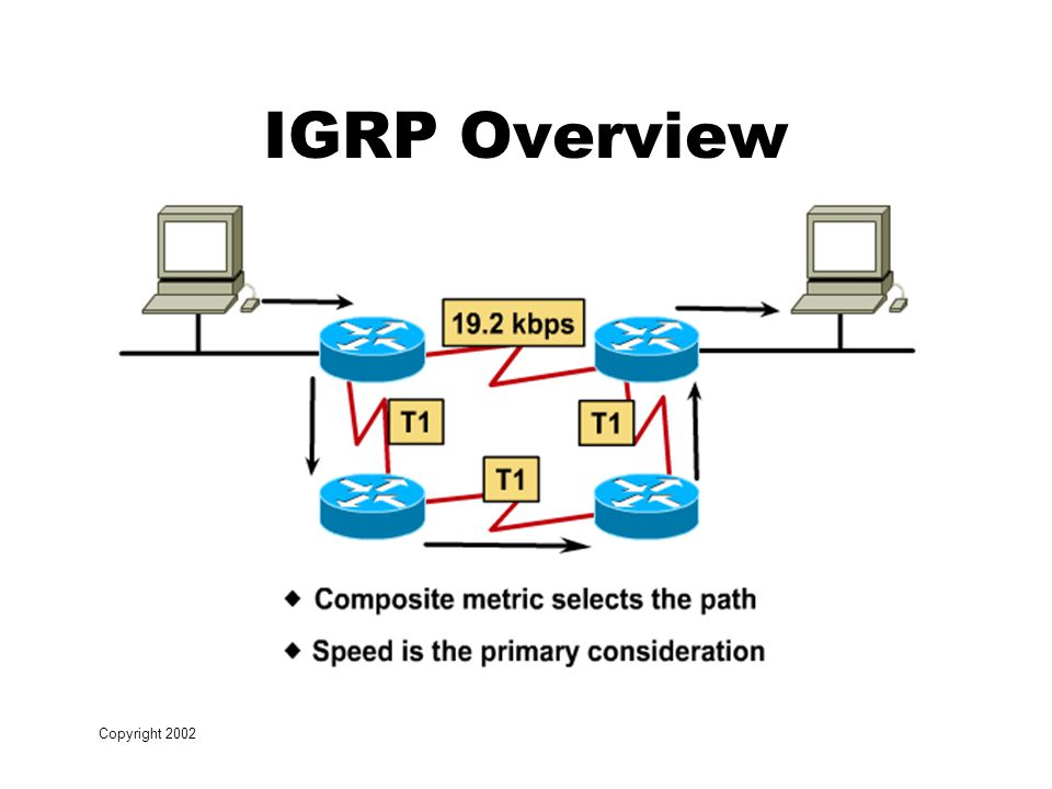 Copyright 2002 IGRP Overview
