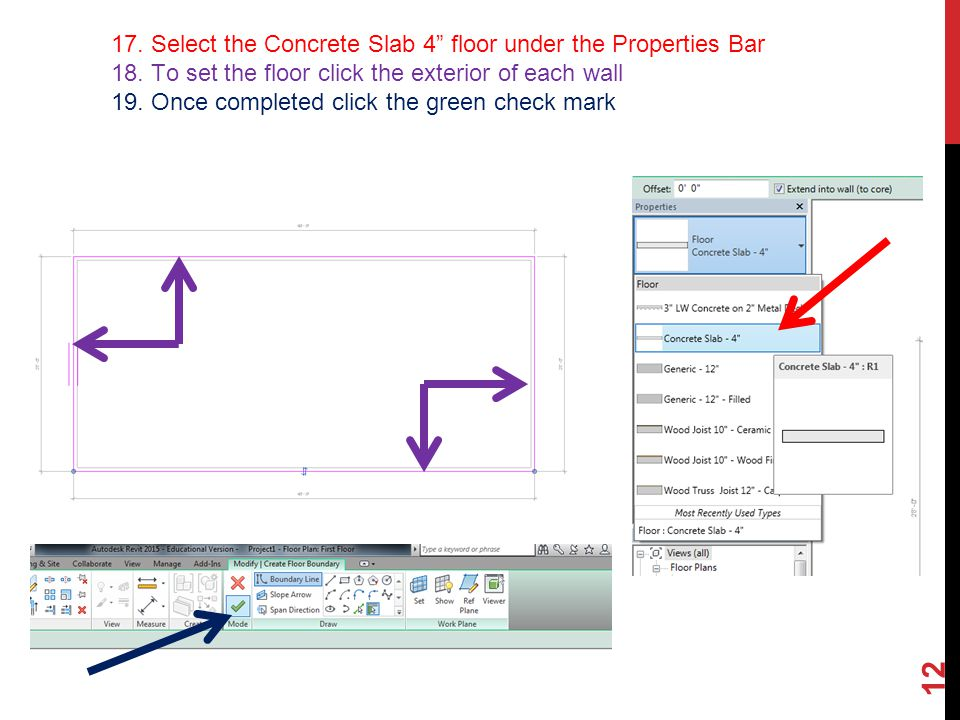 BASIC TUTORIAL ON AUTODESK REVIT Created By MHS Architecture