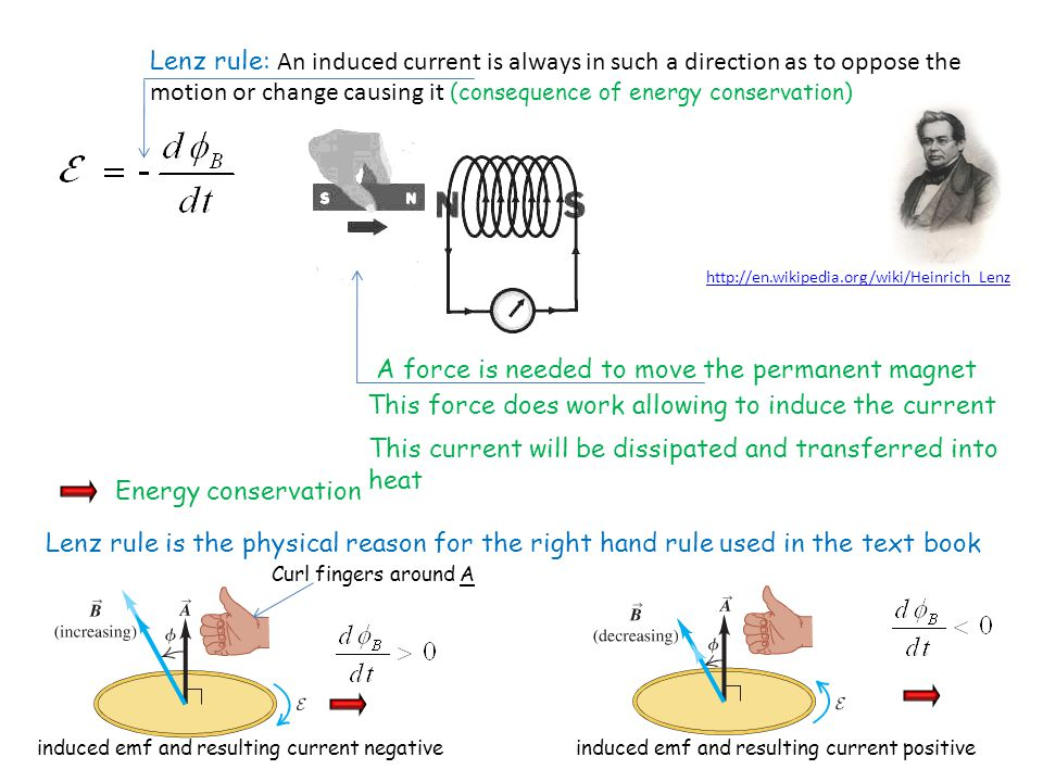 Electromagnetic Induction We address now the question: what