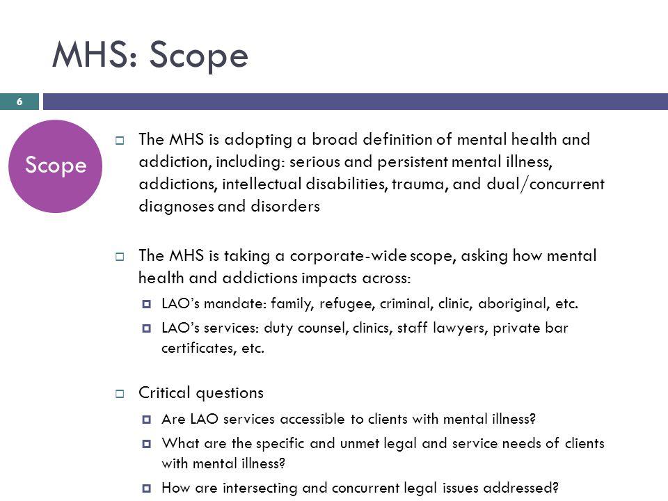 Legal Aid Ontario Mental Health Addictions Strategy Ryan Fritsch