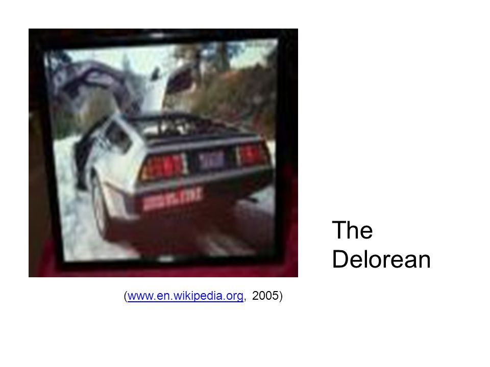 The Delorean (  2005)