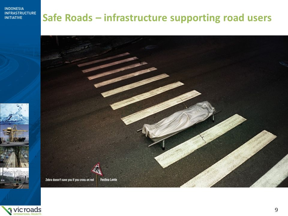 9 Safe Roads – infrastructure supporting road users