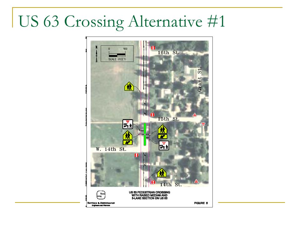 US 63 Crossing Alternative #1