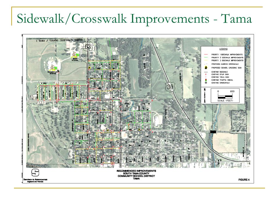 Sidewalk/Crosswalk Improvements - Tama