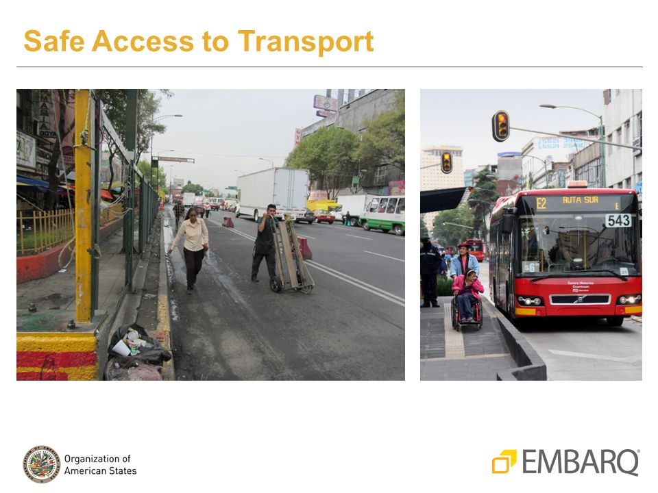 Safe Access to Transport