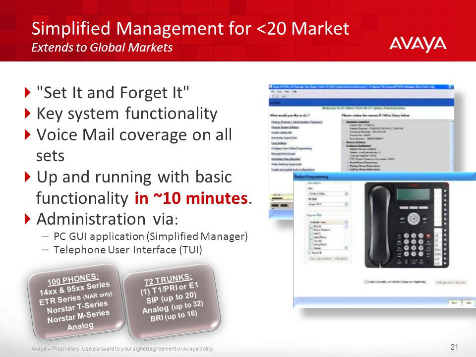 Avaya IP Office Release 7 0 New capabilities, devices and