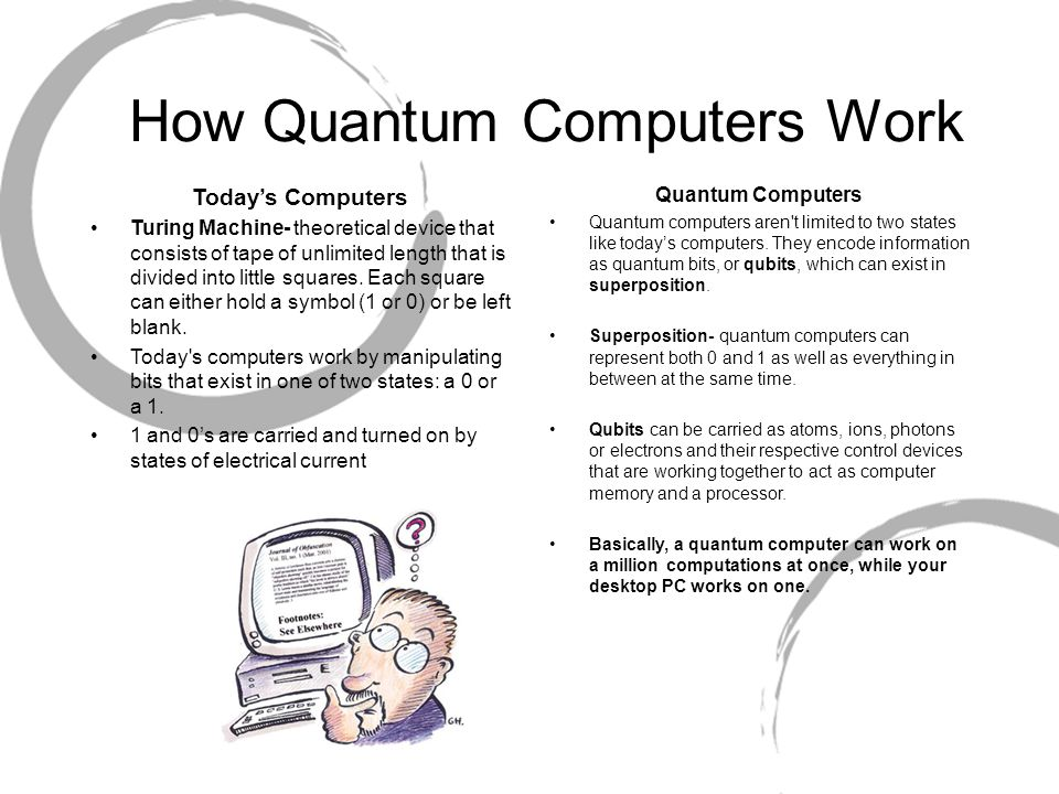 Quantum Computing  Introduction to Computing Is currently
