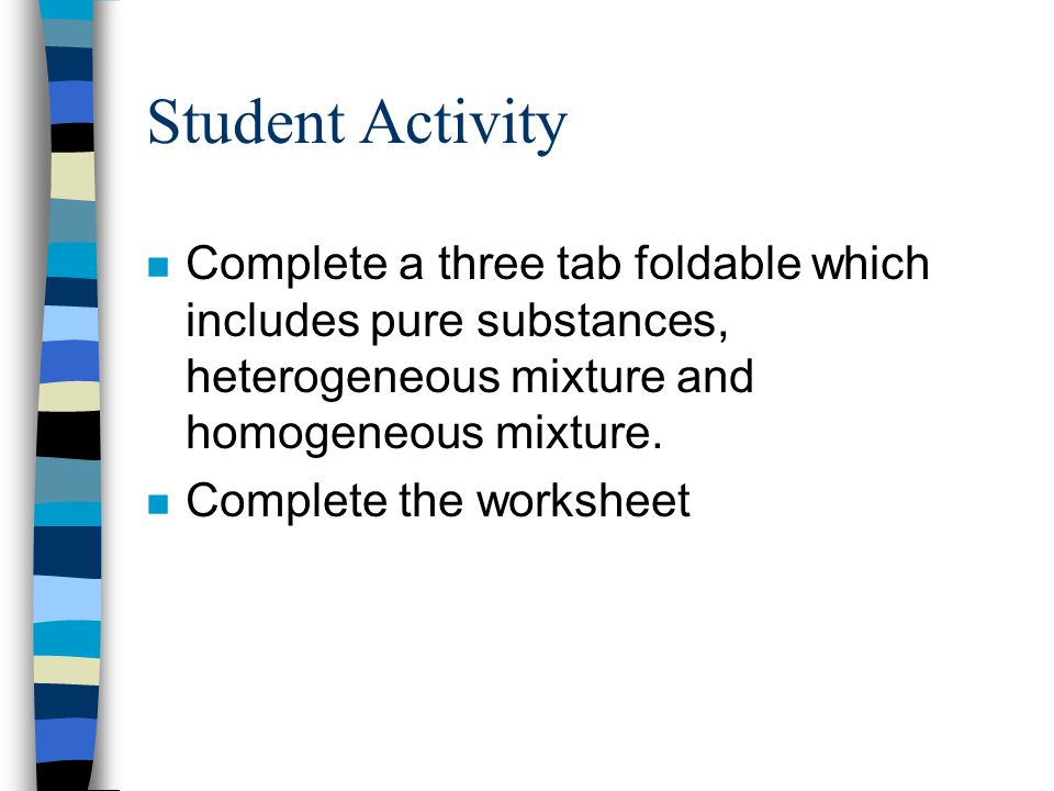 Grade 7 Science Unit 3 Mixtures Solutions The Particle Theory