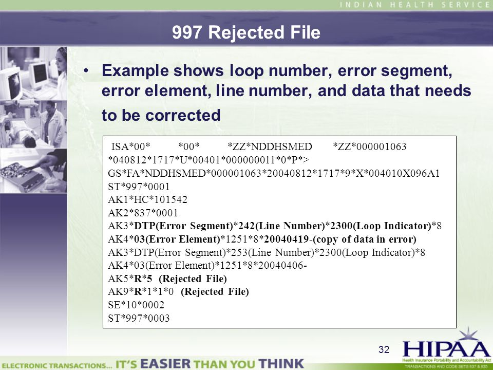 Lesson 4 Reading 837 Error Reports and Making Corrections  - ppt