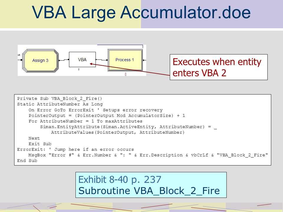 Chapter Eight Visual Basic for Applications (VBA) McGraw-Hill/Irwin