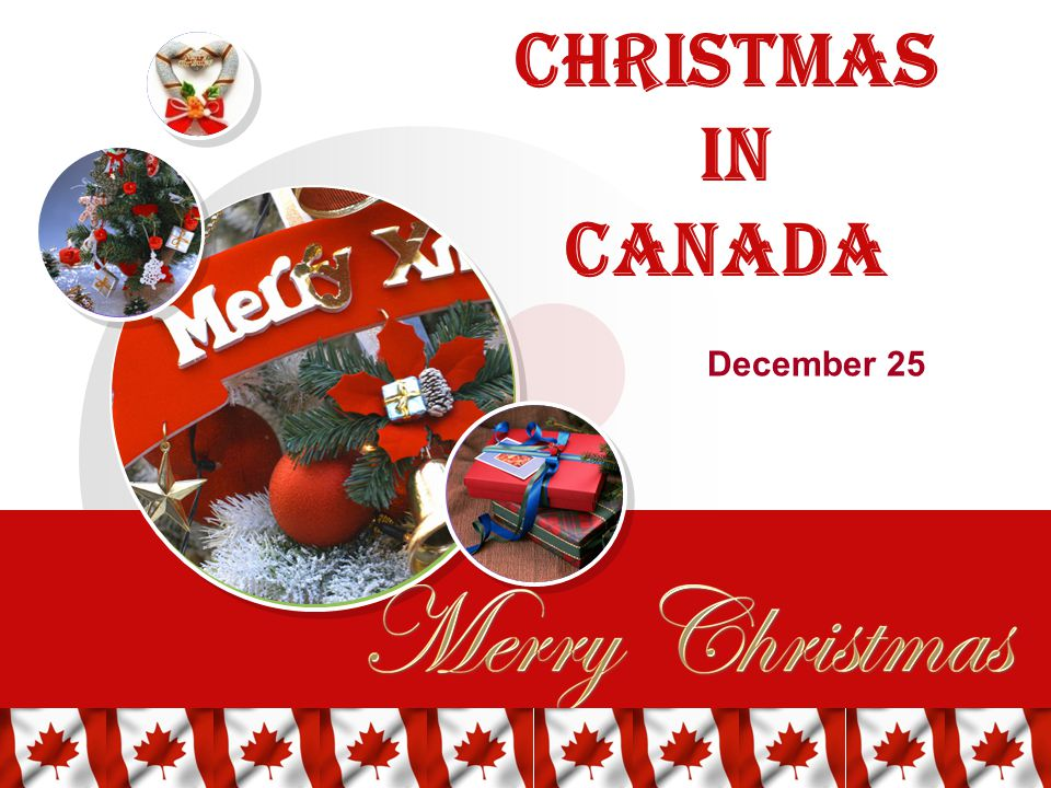1 christmas in canada december 25