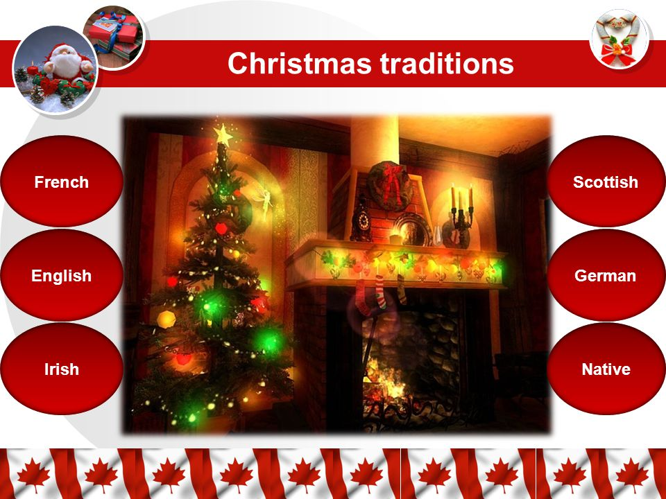 English Christmas Traditions.Christmas In Canada December 25 Christmas Traditions French
