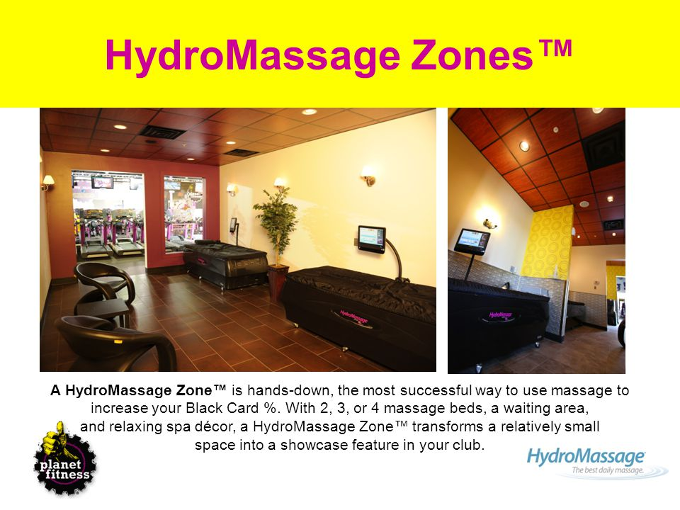 Hydromassage Zones In Planet Fitness Hydromassage Overview