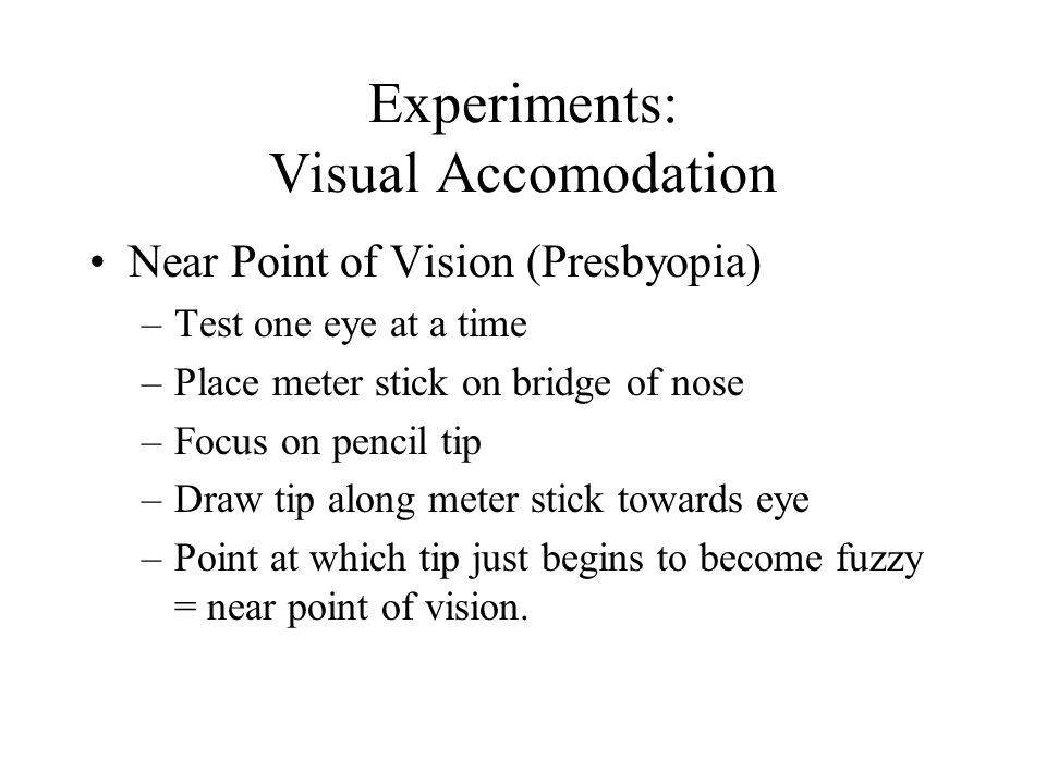 Sensory Physiology Vision Hearing And Orientation Ppt Download